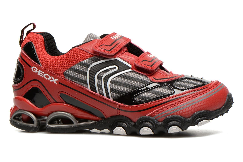 Sneakers Geox J Tornado Rood achterkant