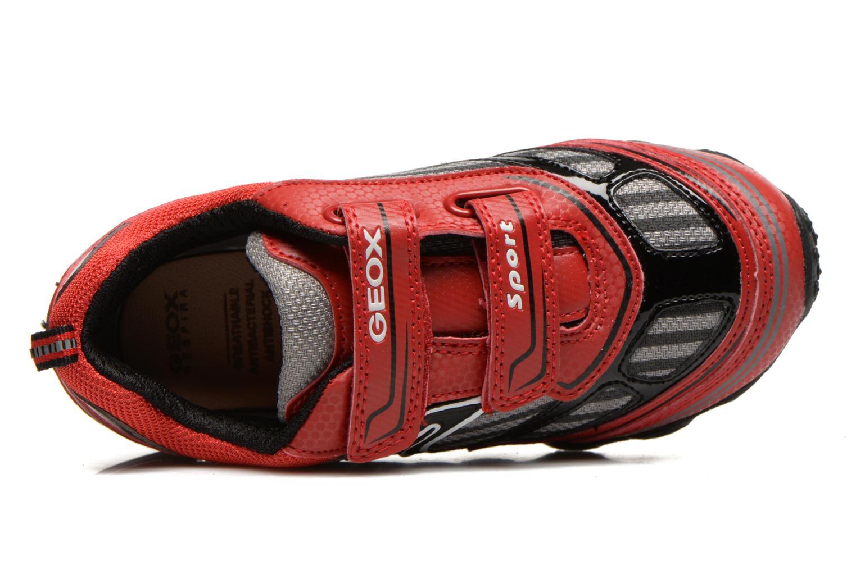 Sneakers Geox J Tornado Rood links