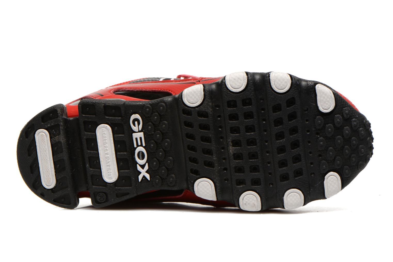Sneakers Geox J Tornado Rood boven
