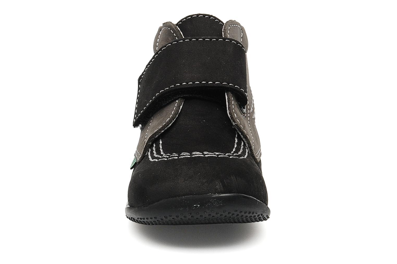 Schoenen met klitteband Kickers Bilou Zwart model