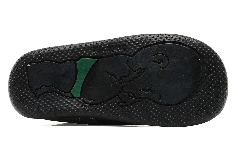 Schoenen met klitteband Kickers Bilou Zwart boven