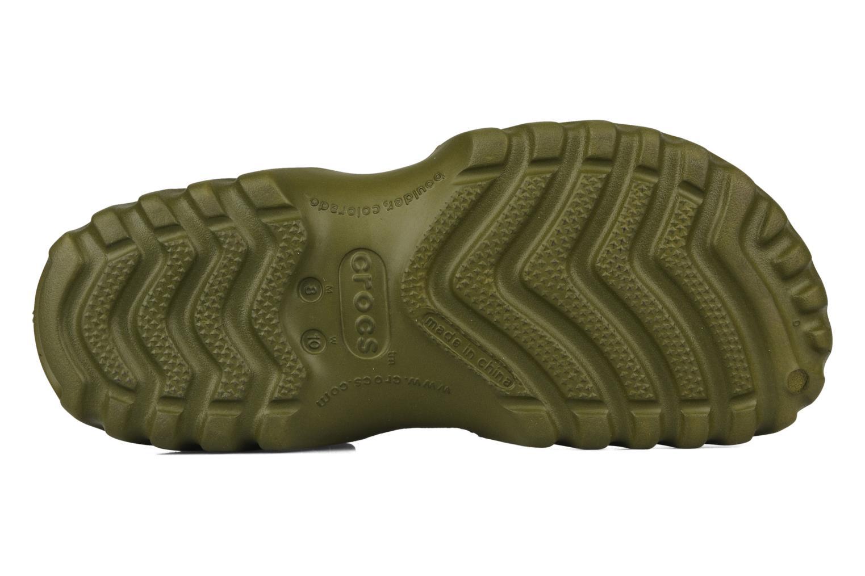 Sandales et nu-pieds Crocs Off Road Vert vue haut
