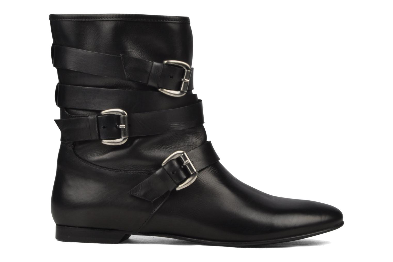 Boots en enkellaarsjes Manas LUNA Zwart achterkant