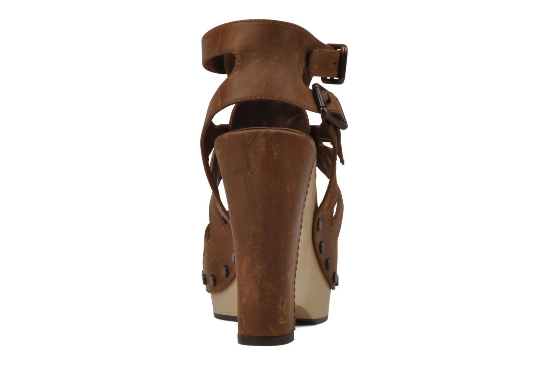 Sandalen Belle Arizona braun ansicht von rechts