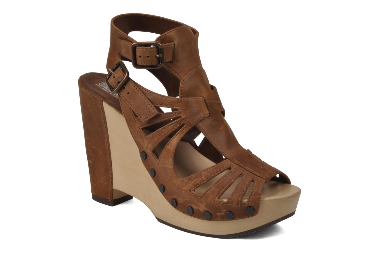 Sandales et nu-pieds Belle Arizona Marron vue détail/paire