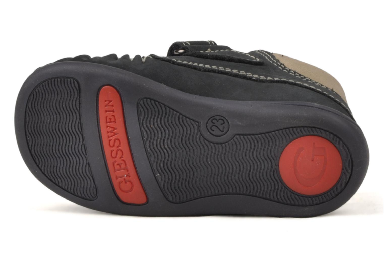 Chaussures à scratch Giesswein Cottbus Bleu vue haut