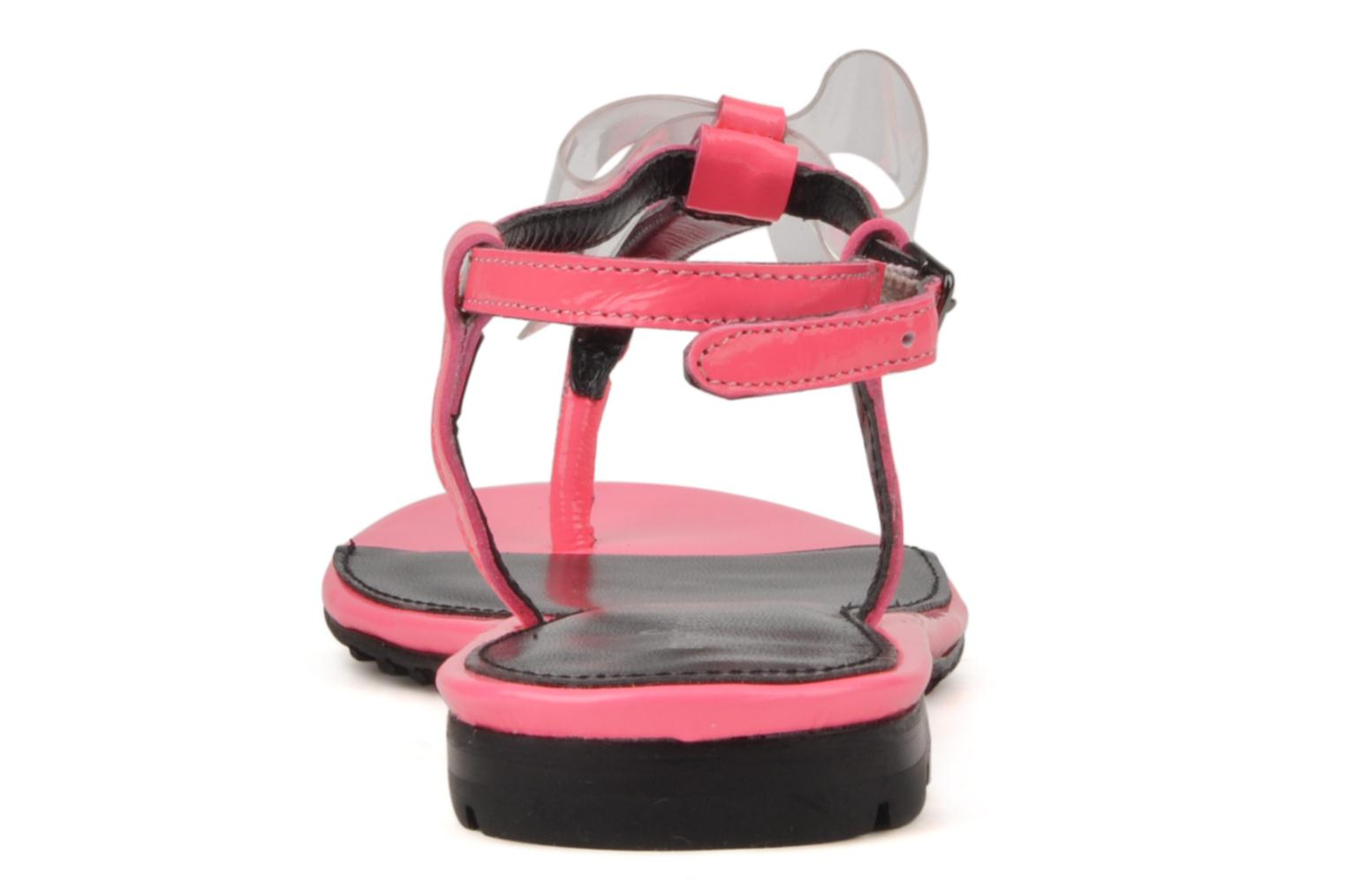 Sandals Mellow Yellow Hektok Pink view from the right