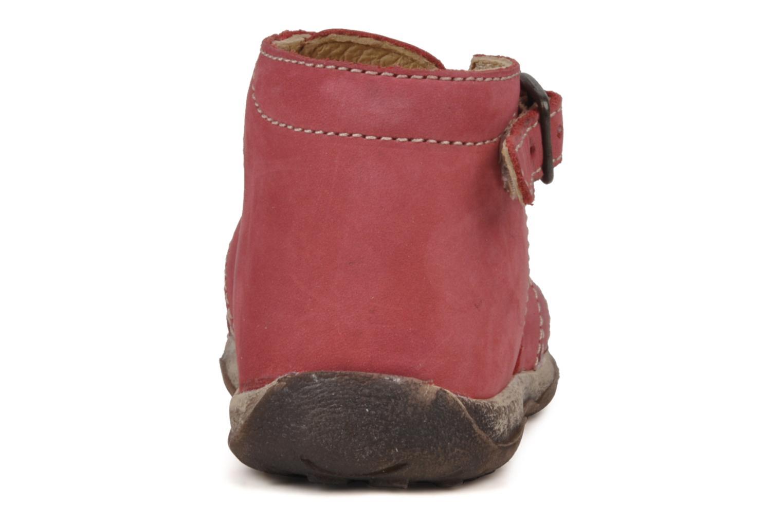 Sandales et nu-pieds Bopy Porsair Rouge vue droite