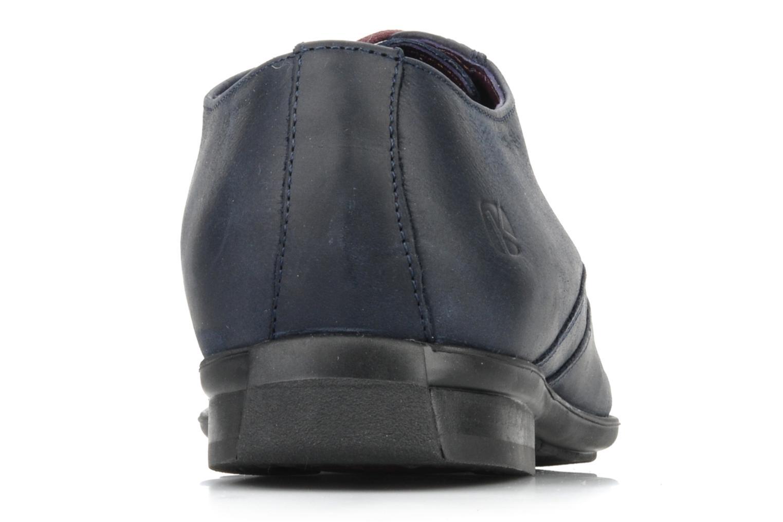 Chaussures à lacets Kost KEFO4 Bleu vue droite