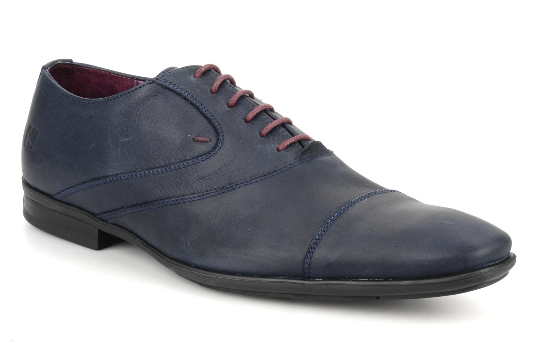 Chaussures à lacets Kost KEFO4 Bleu vue détail/paire
