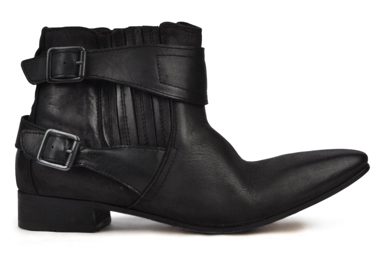 Boots en enkellaarsjes H By Hudson Newob Zwart achterkant