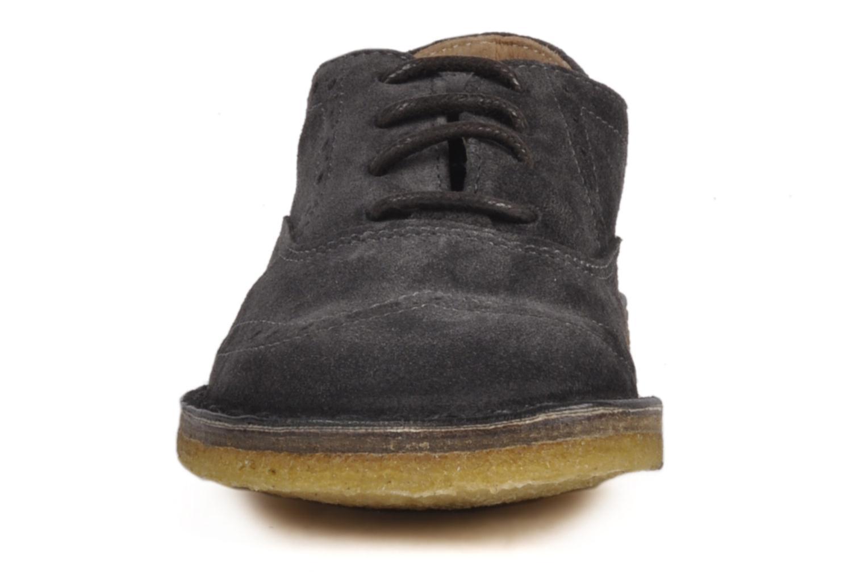 Schnürschuhe PèPè Legio grau schuhe getragen