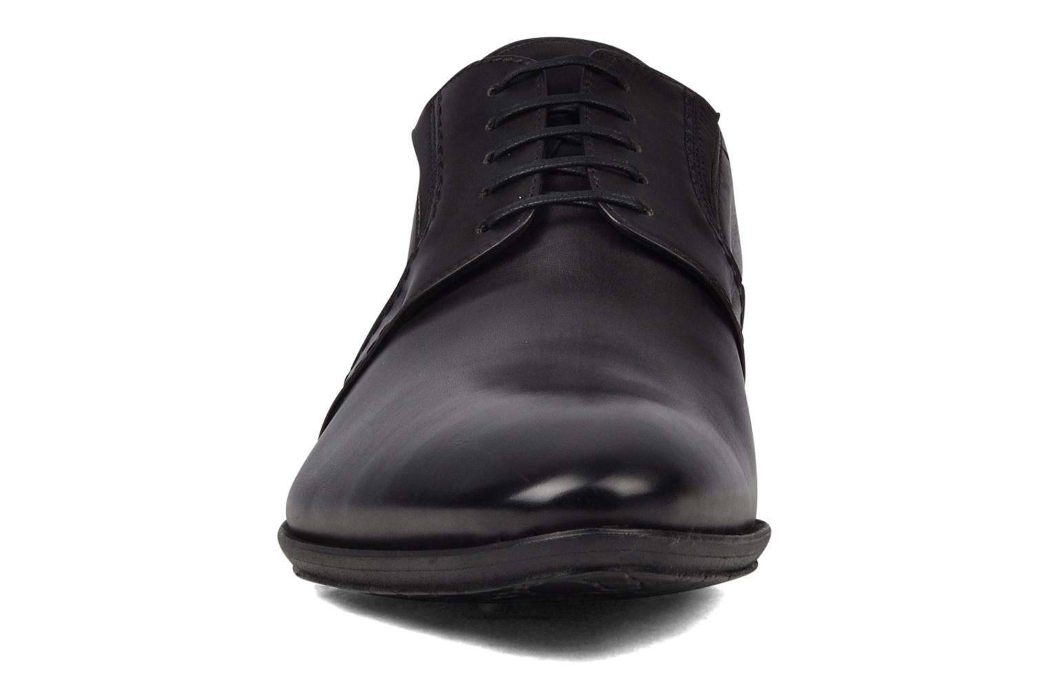 Lace-up shoes Doucal's Henry  Grey model view
