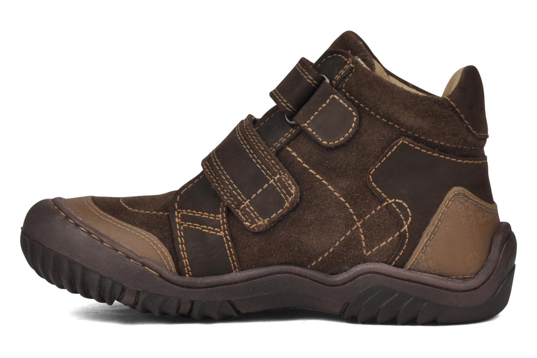 Boots en enkellaarsjes GBB Mickael Bruin voorkant
