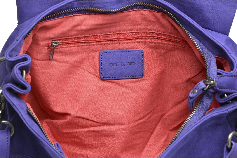 Handtassen Nat & Nin Lola Blauw achterkant