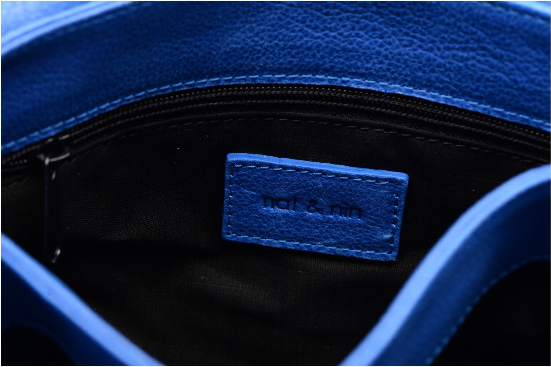 Handtaschen Nat & Nin Jenny blau ansicht von hinten