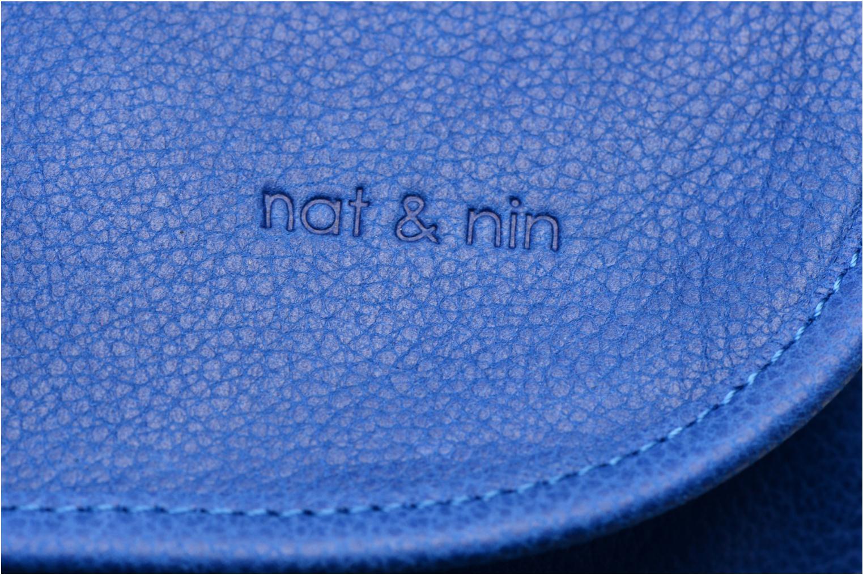 Handtaschen Nat & Nin Jenny blau ansicht von links