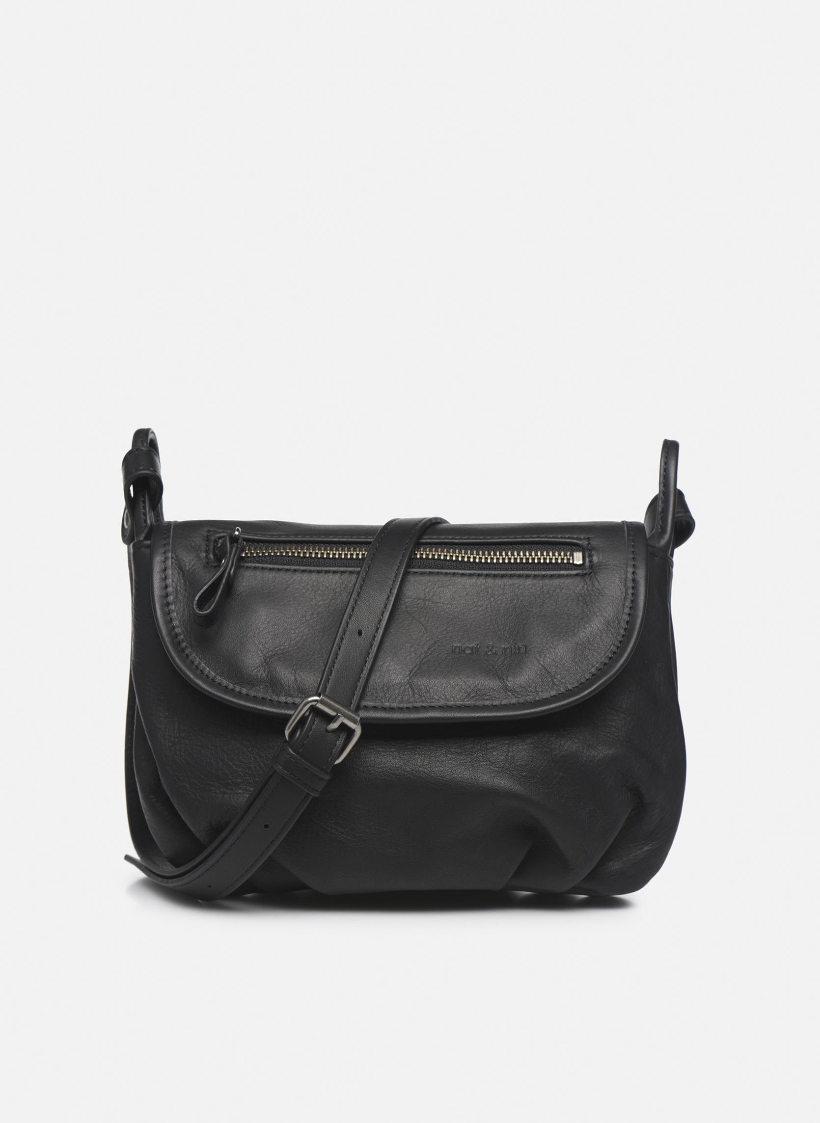 Handbags Nat & Nin Jenny Black detailed view/ Pair view