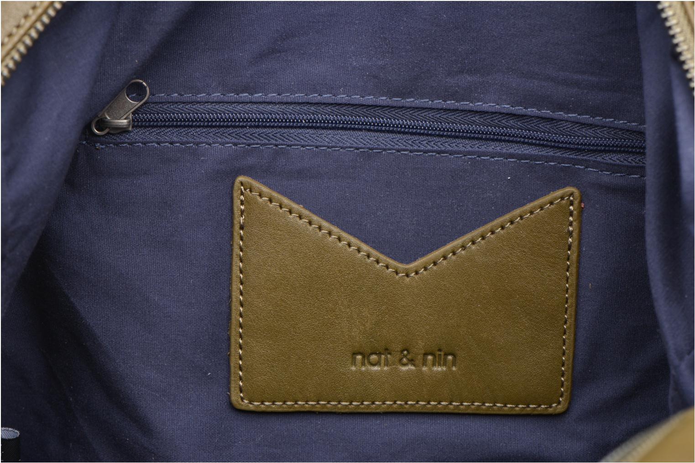 Handtassen Nat & Nin Macy Groen achterkant