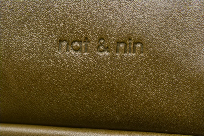 Sacs à main Nat & Nin Macy Vert vue gauche