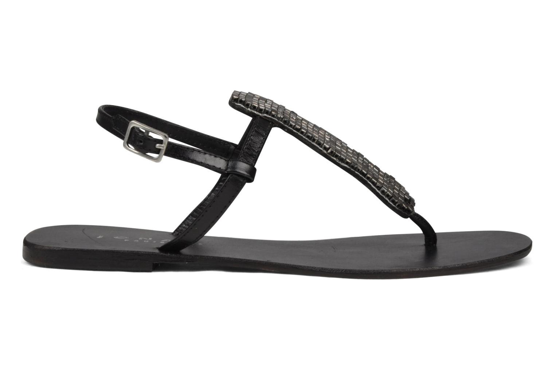 Sandales et nu-pieds Jonak Izou Noir vue derrière