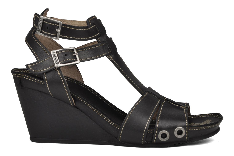 Sandales et nu-pieds Palladium SHEIMA Noir vue derrière
