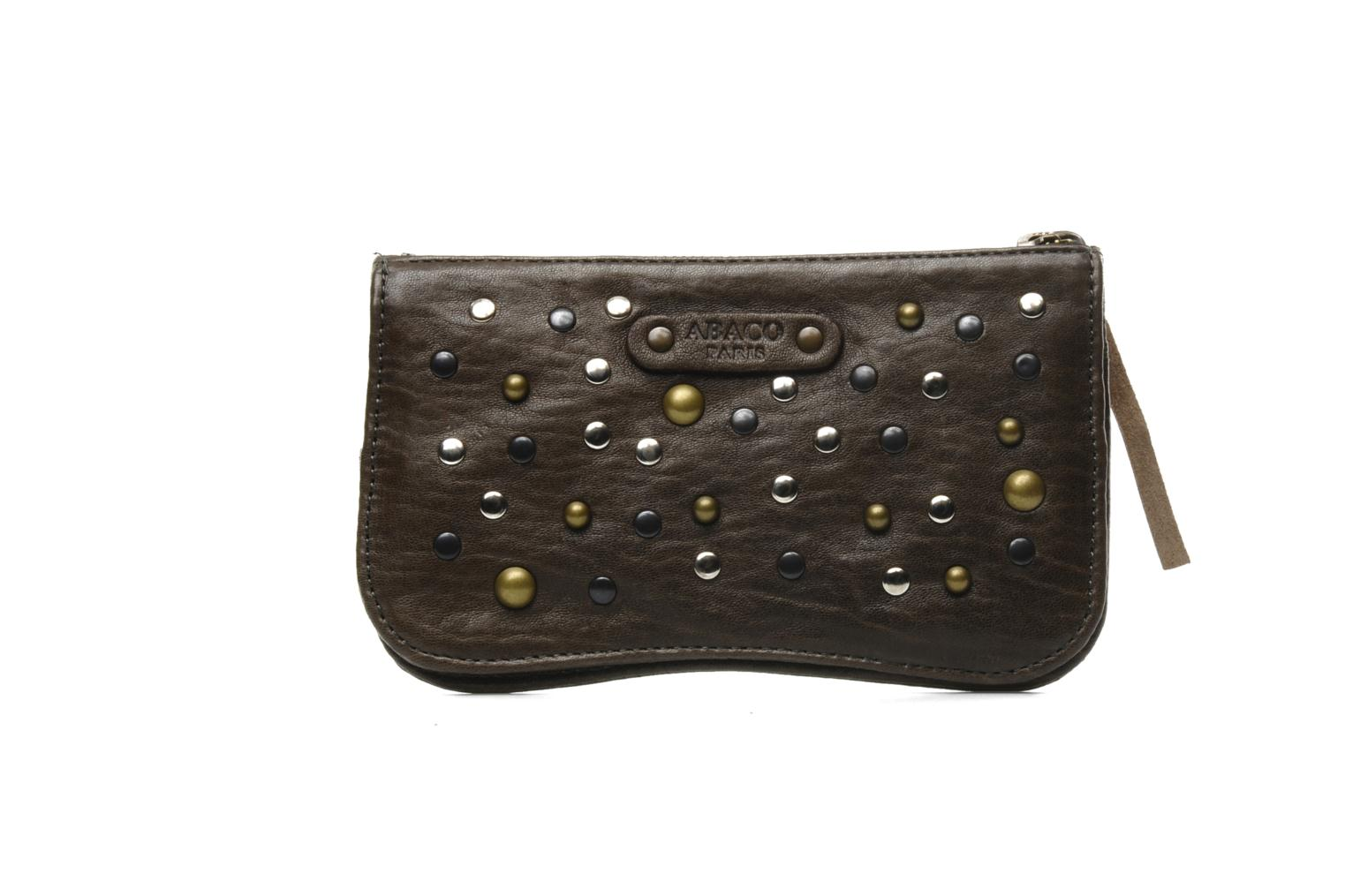 Wallets & cases Abaco Nina Java Clouté Brown front view