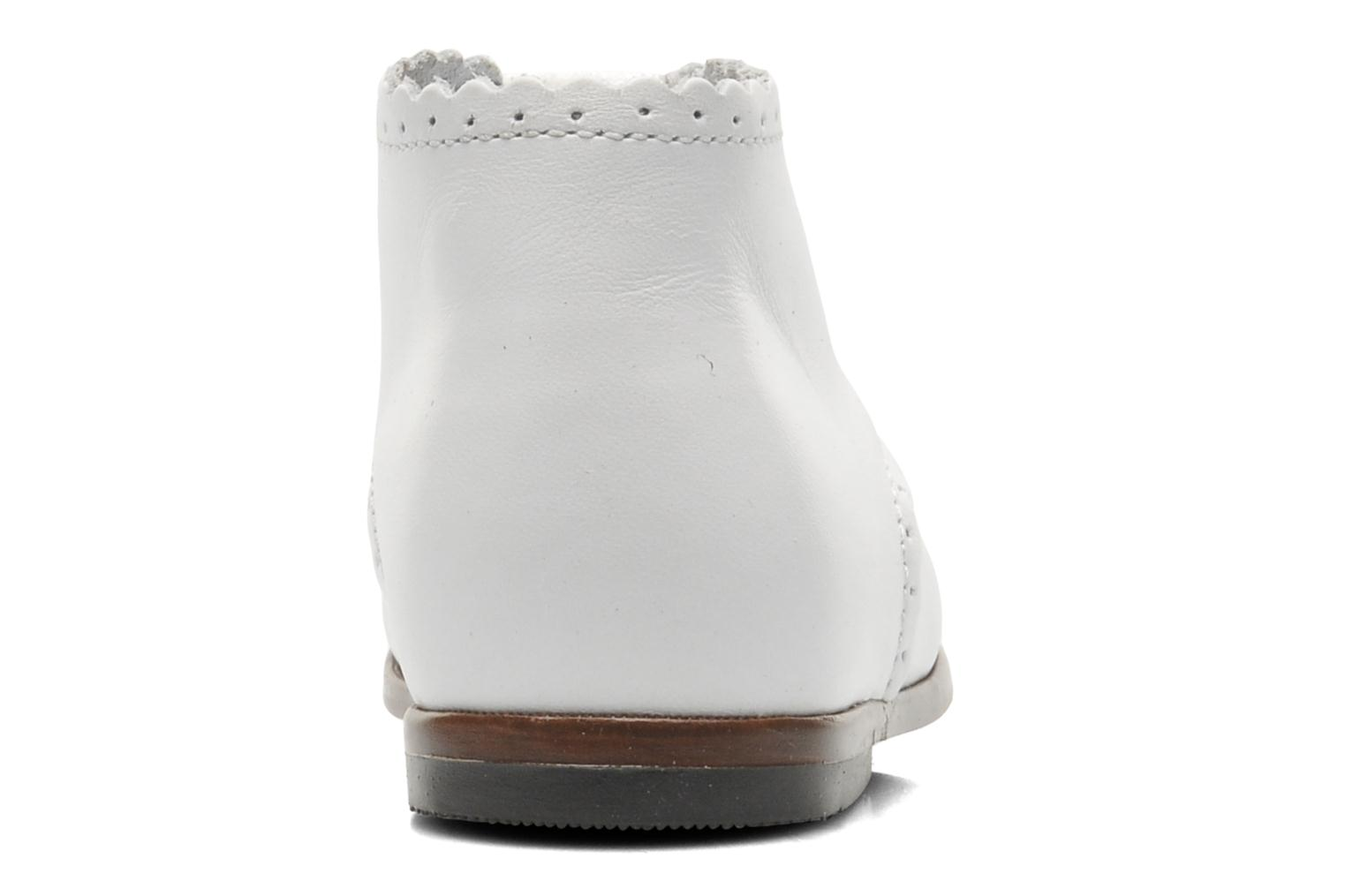 Ankle boots Little Mary Vivaldi White view from the right