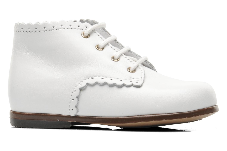 Stiefeletten & Boots Little Mary Vivaldi weiß ansicht von hinten