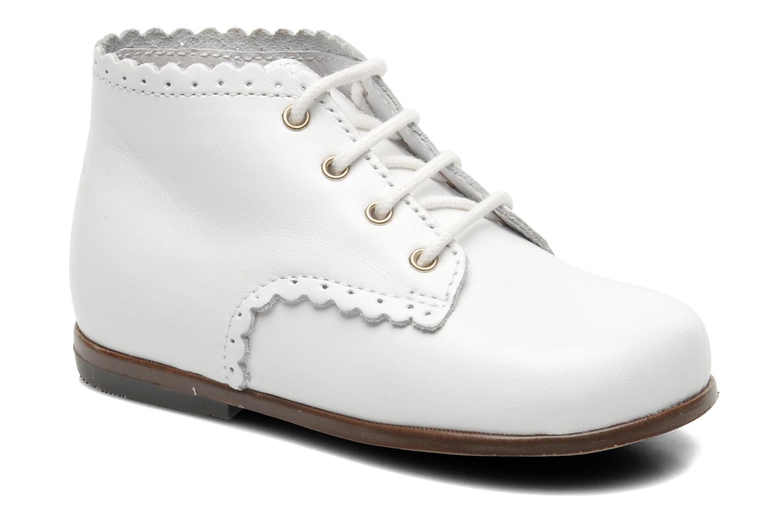 Bottines et boots Little Mary Vivaldi Blanc vue détail/paire