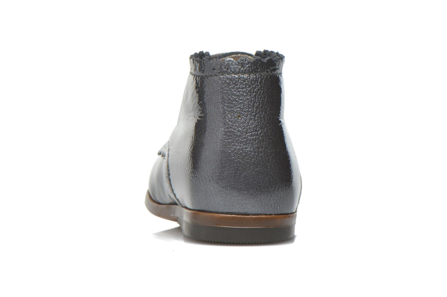 Ankle boots Little Mary Vivaldi Grey view from the right