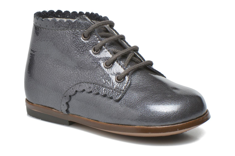 Ankelstøvler Little Mary Vivaldi Grå detaljeret billede af skoene