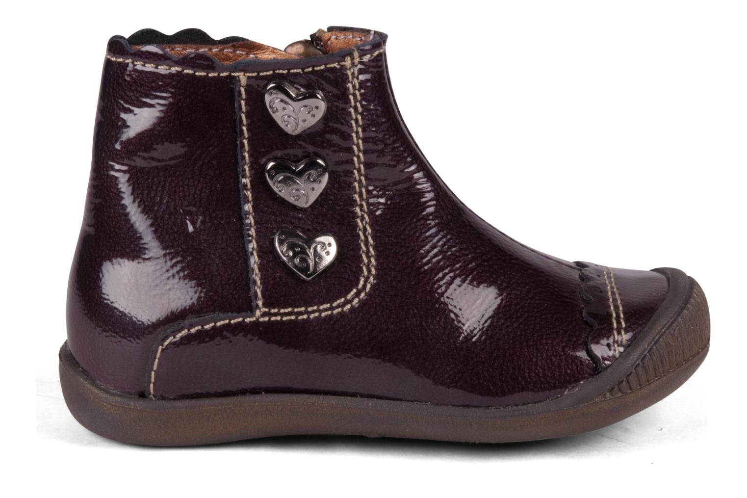 Ankle boots Little Mary Goelette Brown back view