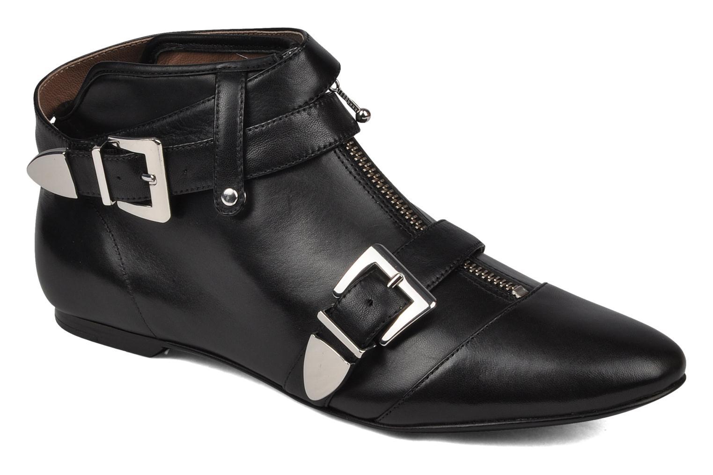 Boots en enkellaarsjes Belle Guam Zwart detail