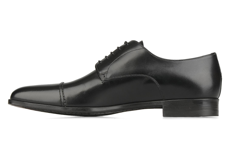 Chaussures à lacets Santoni William 10096 Noir vue face
