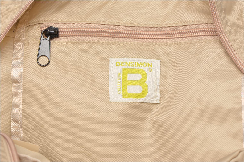 Sporttassen Bensimon Sport Bag Beige achterkant