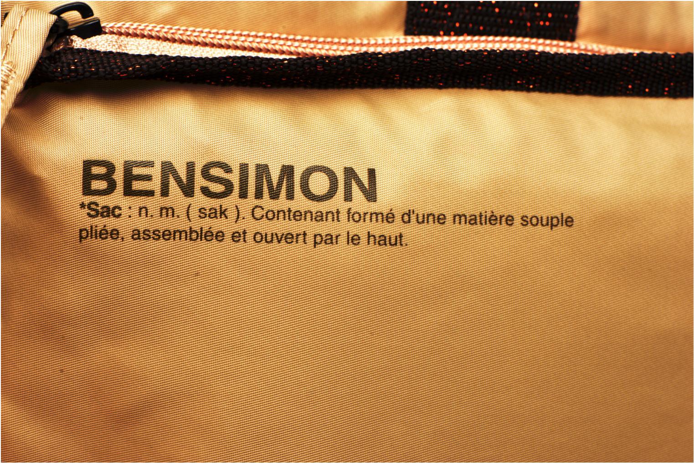 Sporttaschen Bensimon Sport Bag beige ansicht von links