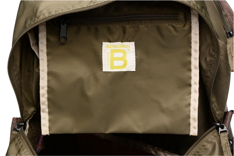 Sporttassen Bensimon Sport Bag Groen achterkant