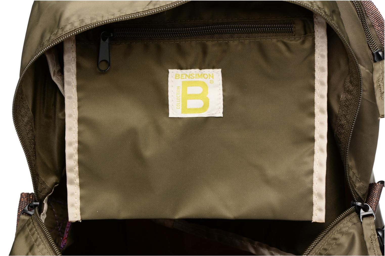 Sacs de sport Bensimon Sport Bag Vert vue derrière