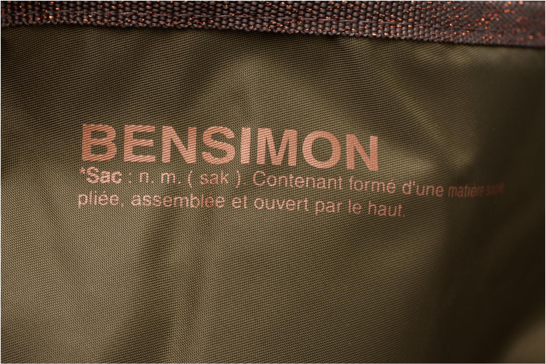 Sacs de sport Bensimon Sport Bag Vert vue gauche