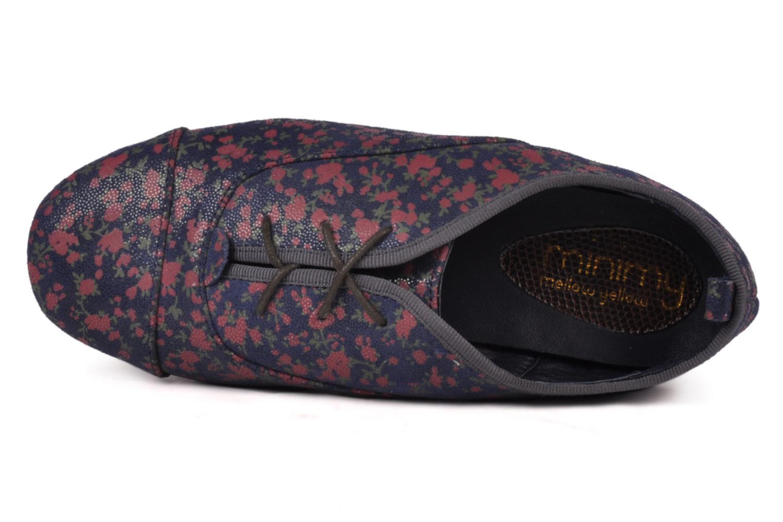 Chaussures à lacets Mellow Yellow Miniitzhak Bleu vue gauche