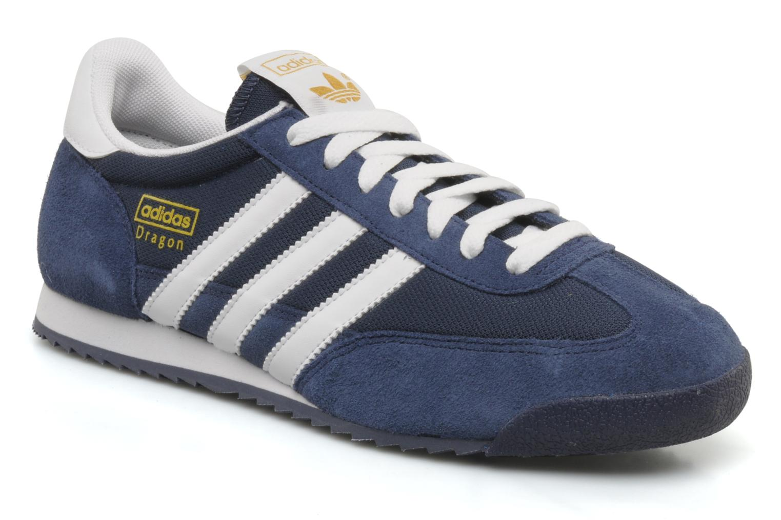 Sneakers Adidas Originals Dragon Blauw detail