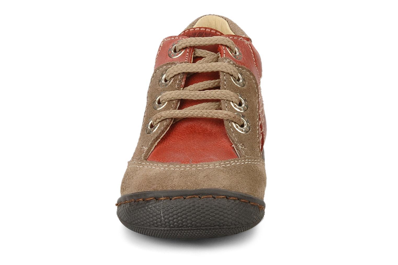 Bottines et boots Natik 22507B Rouge vue portées chaussures