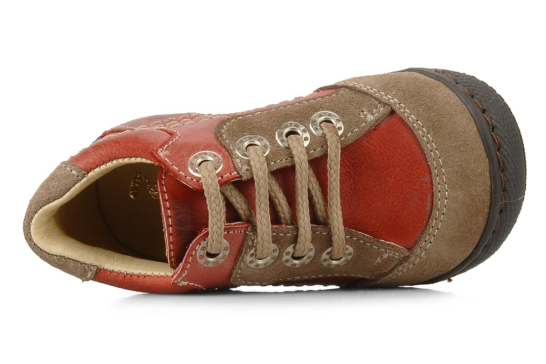 Stiefeletten & Boots Natik 22507B rot ansicht von links