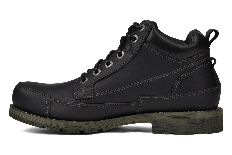 Chaussures à lacets Skechers Shockwaves Regions 61737 Noir vue face