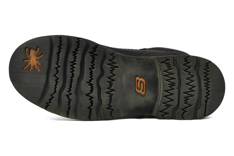 Chaussures à lacets Skechers Shockwaves Regions 61737 Noir vue haut