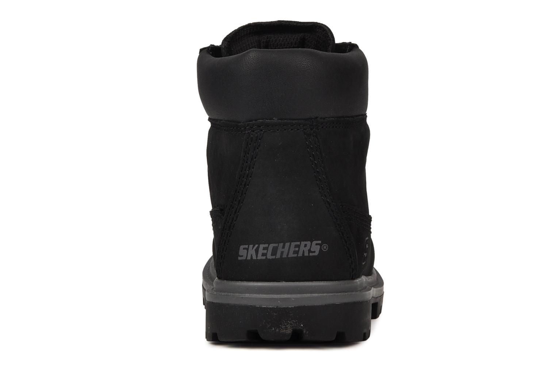 Bottines et boots Skechers Lumberjack Noir vue droite