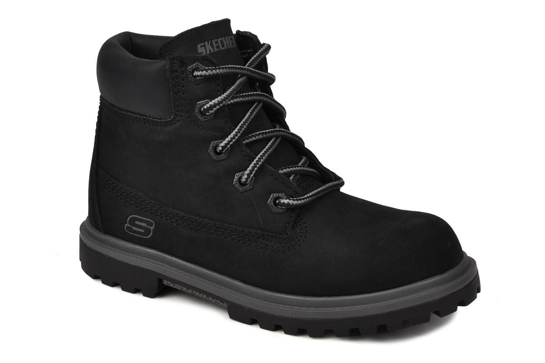 Bottines et boots Skechers Lumberjack Noir vue détail/paire