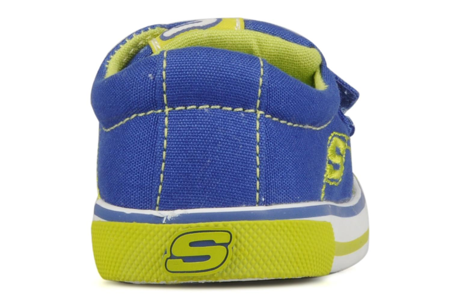 Trainers Skechers Papoose Blue view from the right