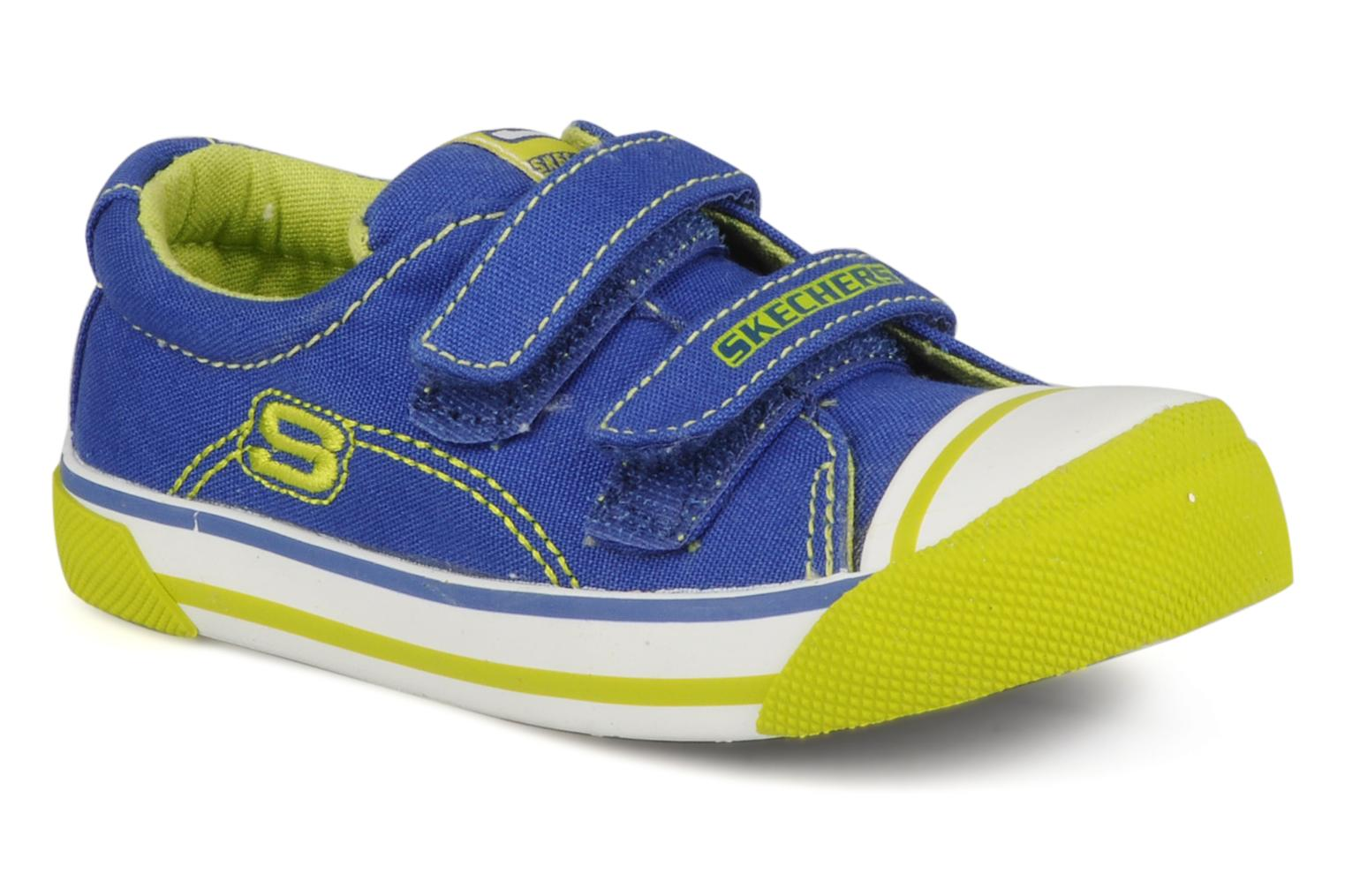 Trainers Skechers Papoose Blue detailed view/ Pair view